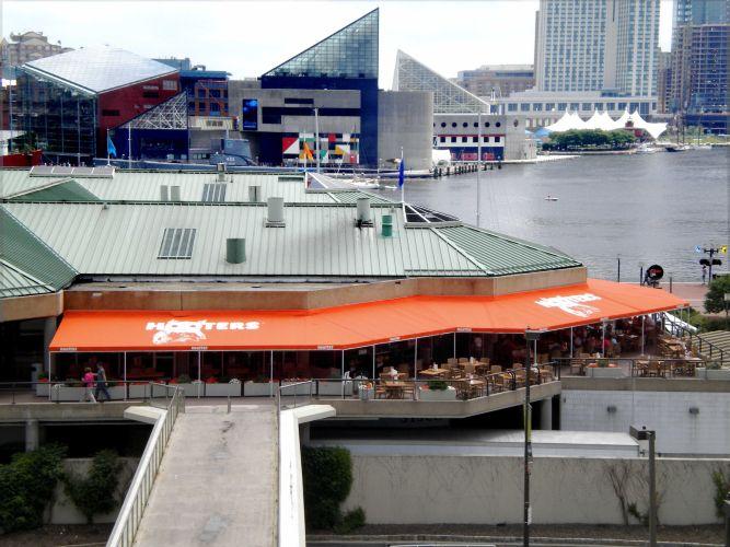 Hooters Restaurant Inner Harbor Baltimore