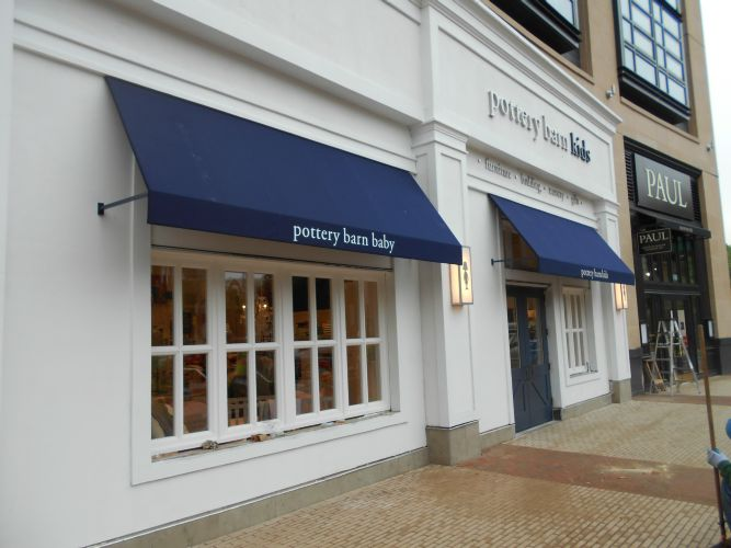 A. Hoffman Awning Co. - Pottery Barn Kids Retail Awning ...
