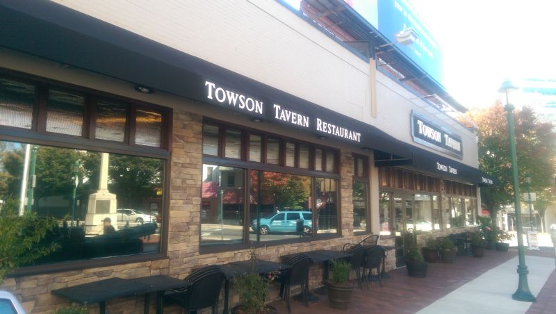 Towson Tavern Restaurant Storefront Awnings