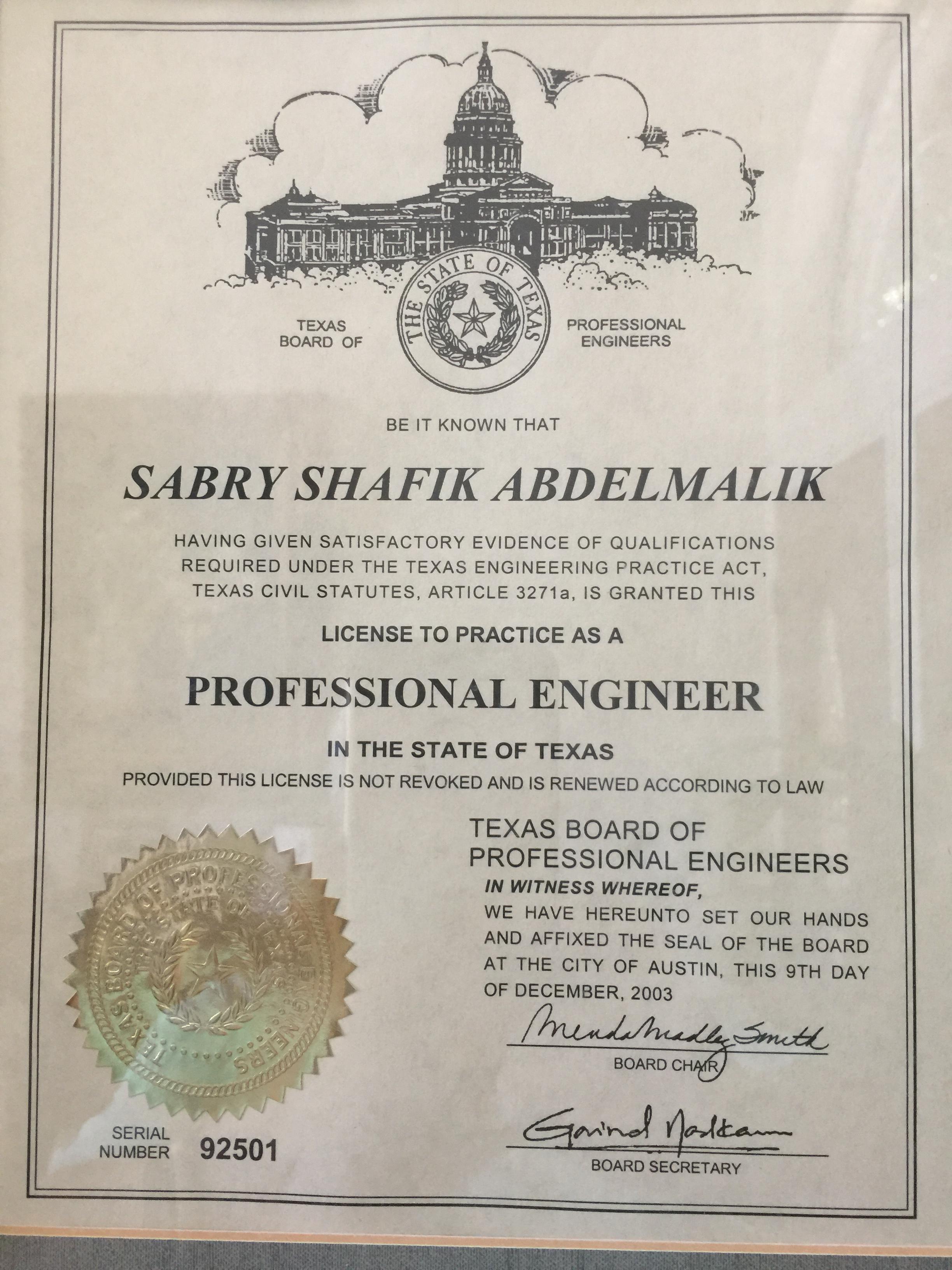 West Site Engineering Inc Licenses Insurance Bonding