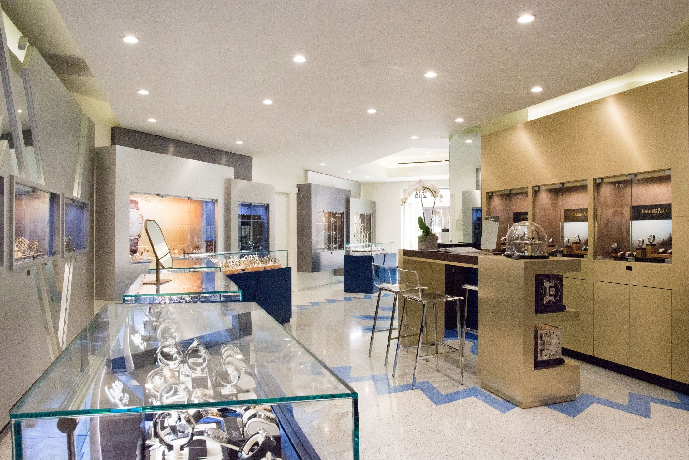 Cisneros Terrazzo Inc West Time Luxury Watches In Beverly