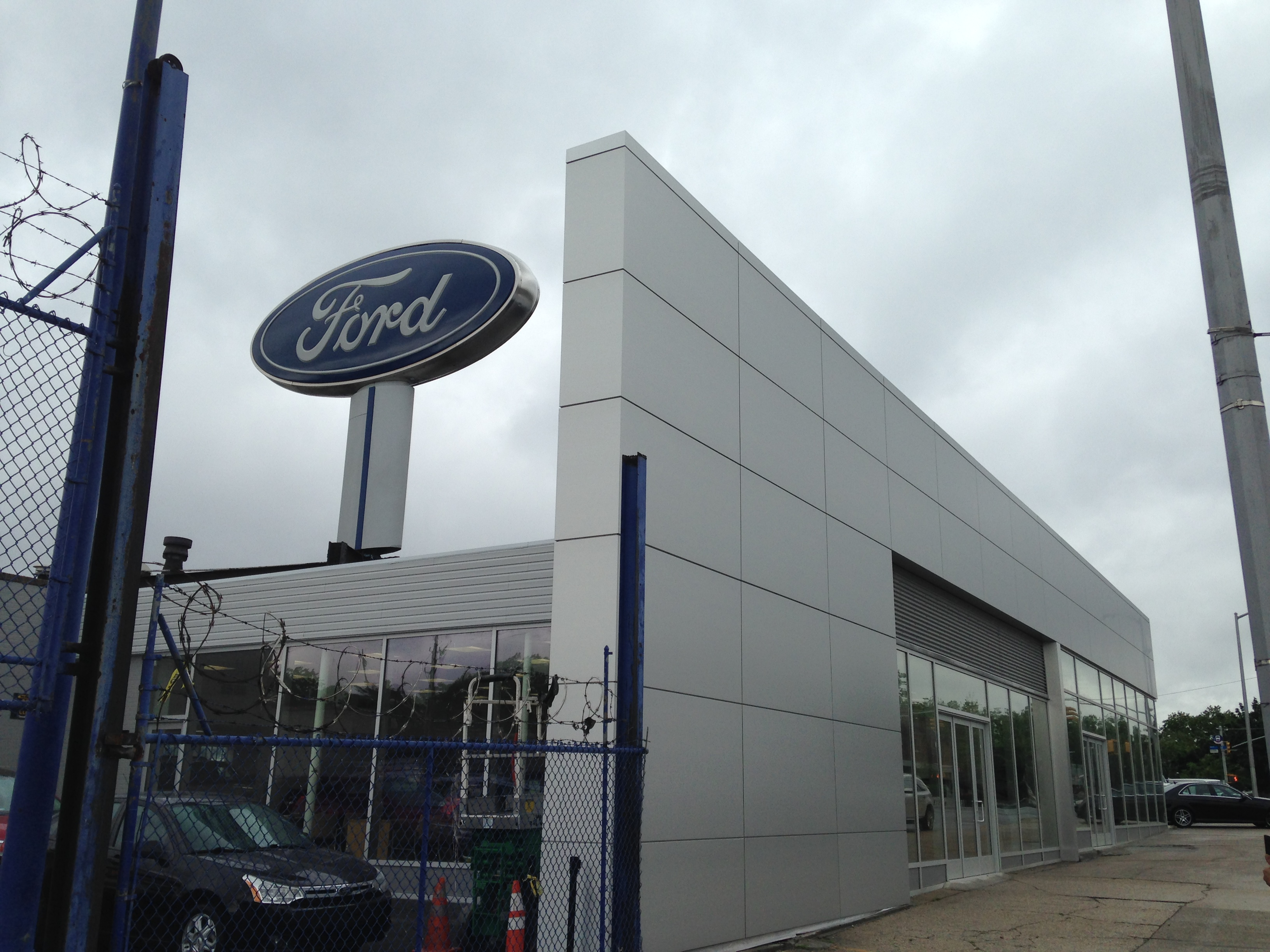 Ford Dealership Brooklyn >> Amg Contracting Services Inc Premier Ford Dealership