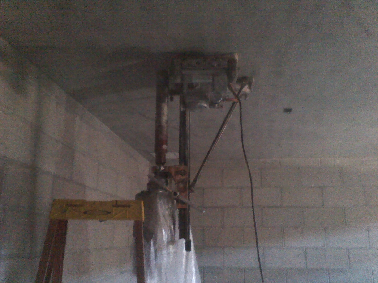Upside-down drilling - Porter Construction Services LLC