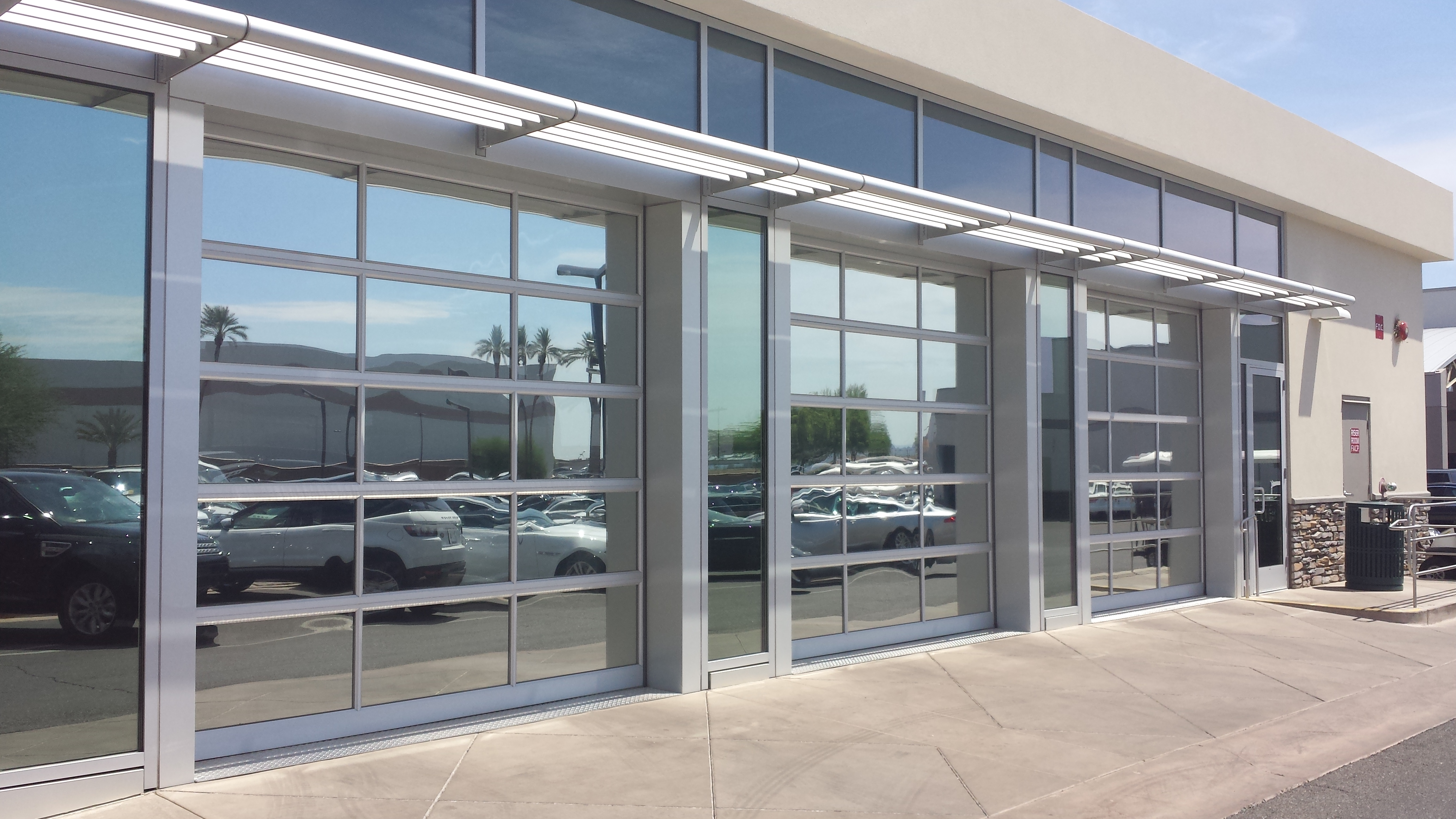On track garage door service inc commercial overhead for A 1 garage door service