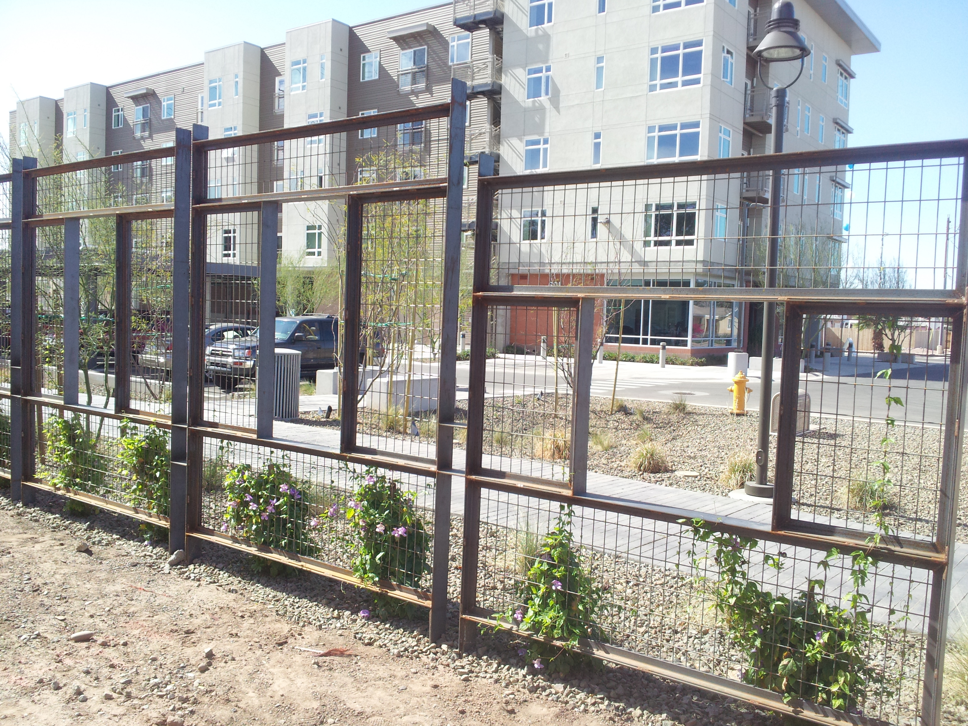 Trellis Fence - Sherwood Welding LLC