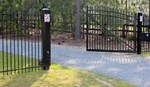Iron Entry Gates - Capitol Fence Builders & Supply