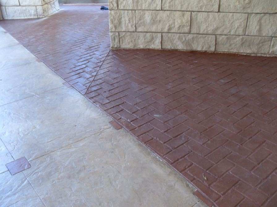 Garren Construction Stamped Concrete Image Proview