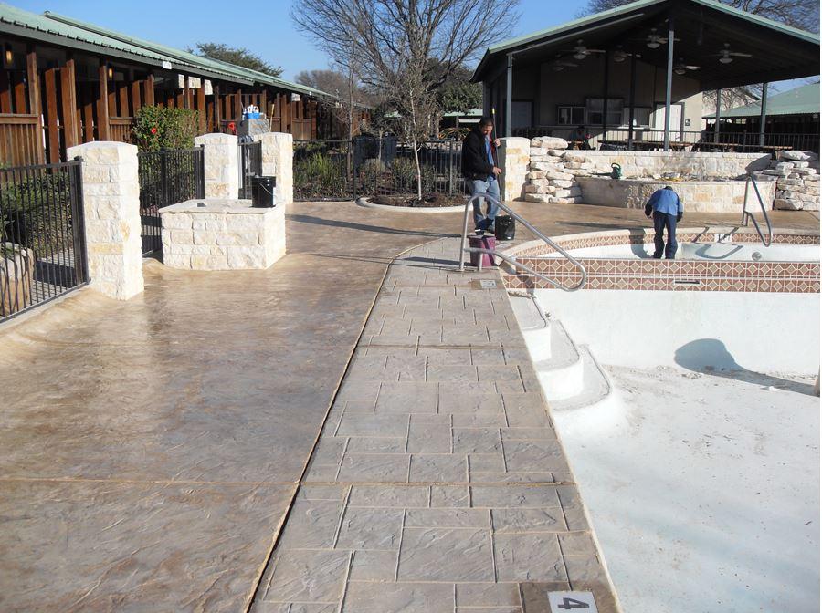 Garren Construction Stamped Concrete Image Proview