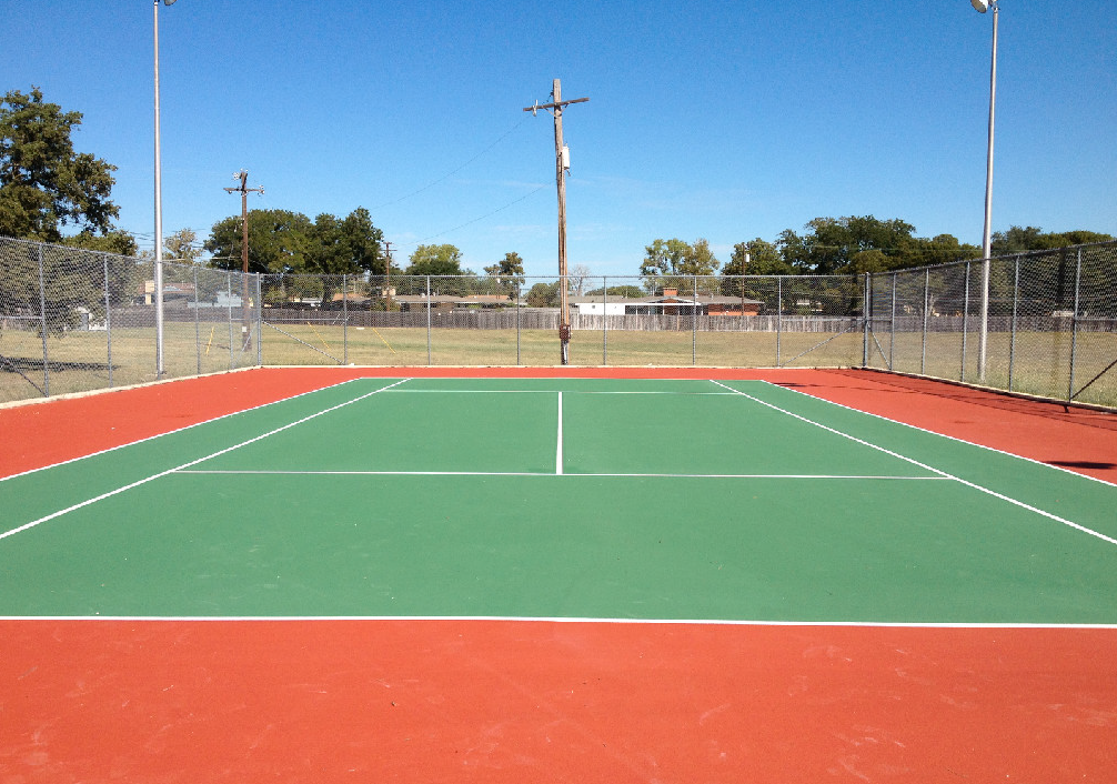 T n t striping llp killeen texas proview for Sport court paint