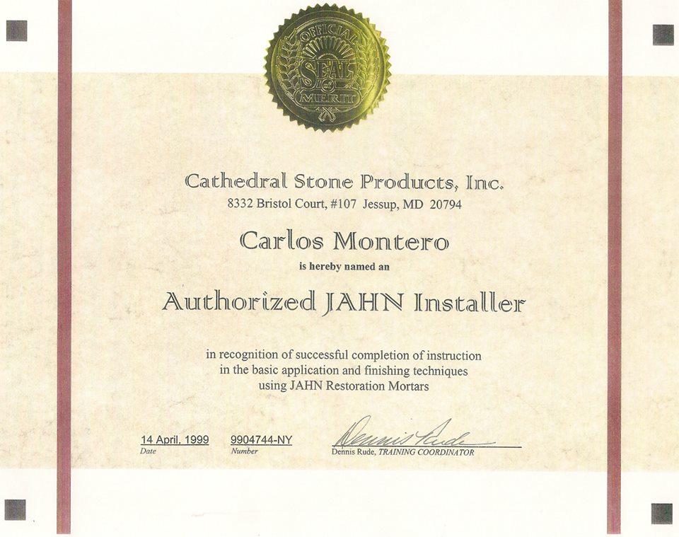 Montero Group, Inc. - Licenses, Insurance, Bonding, & Certifications ...