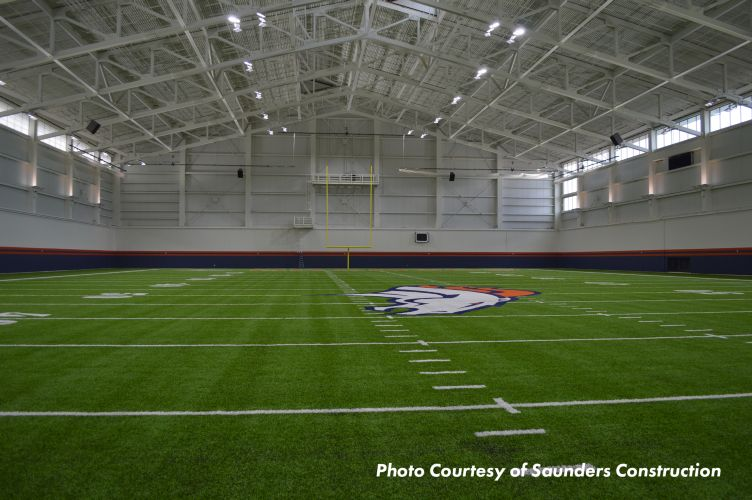Denver Bronco's Indoor Practice Facility - Roof and Wall Systems Photo 2