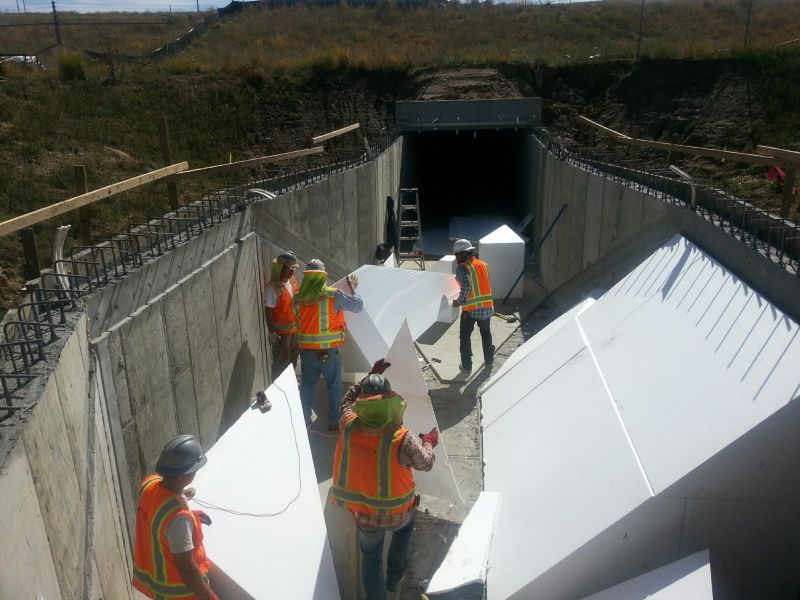 N Metro North Complex Outlet Flume Structure 3(Denver Water Project)