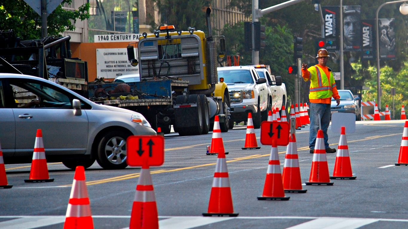 Construction Traffic Control : Roadway construction service llc santa fe springs