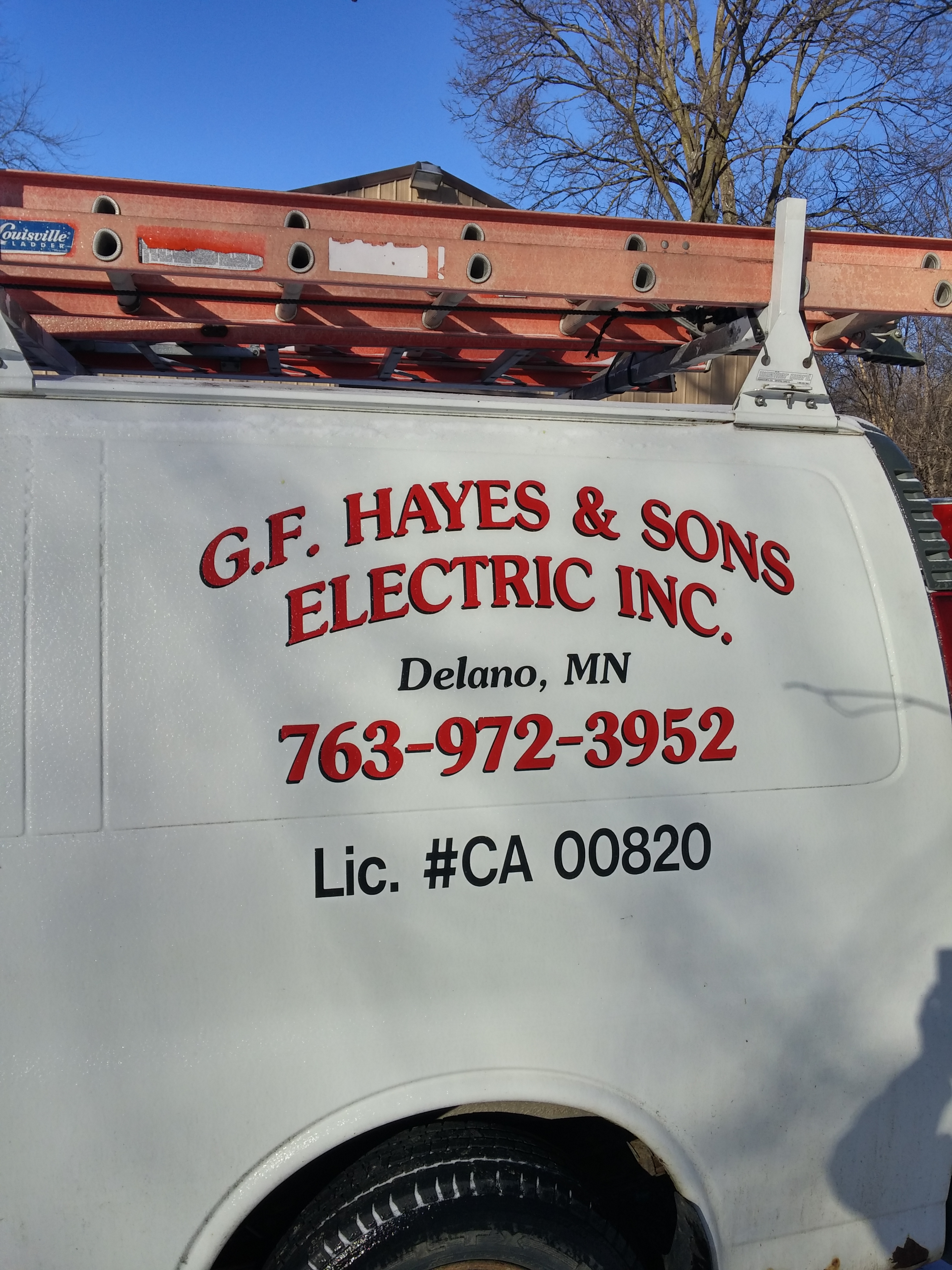 G F Hayes Amp Sons Electric Inc Licenses Insurance