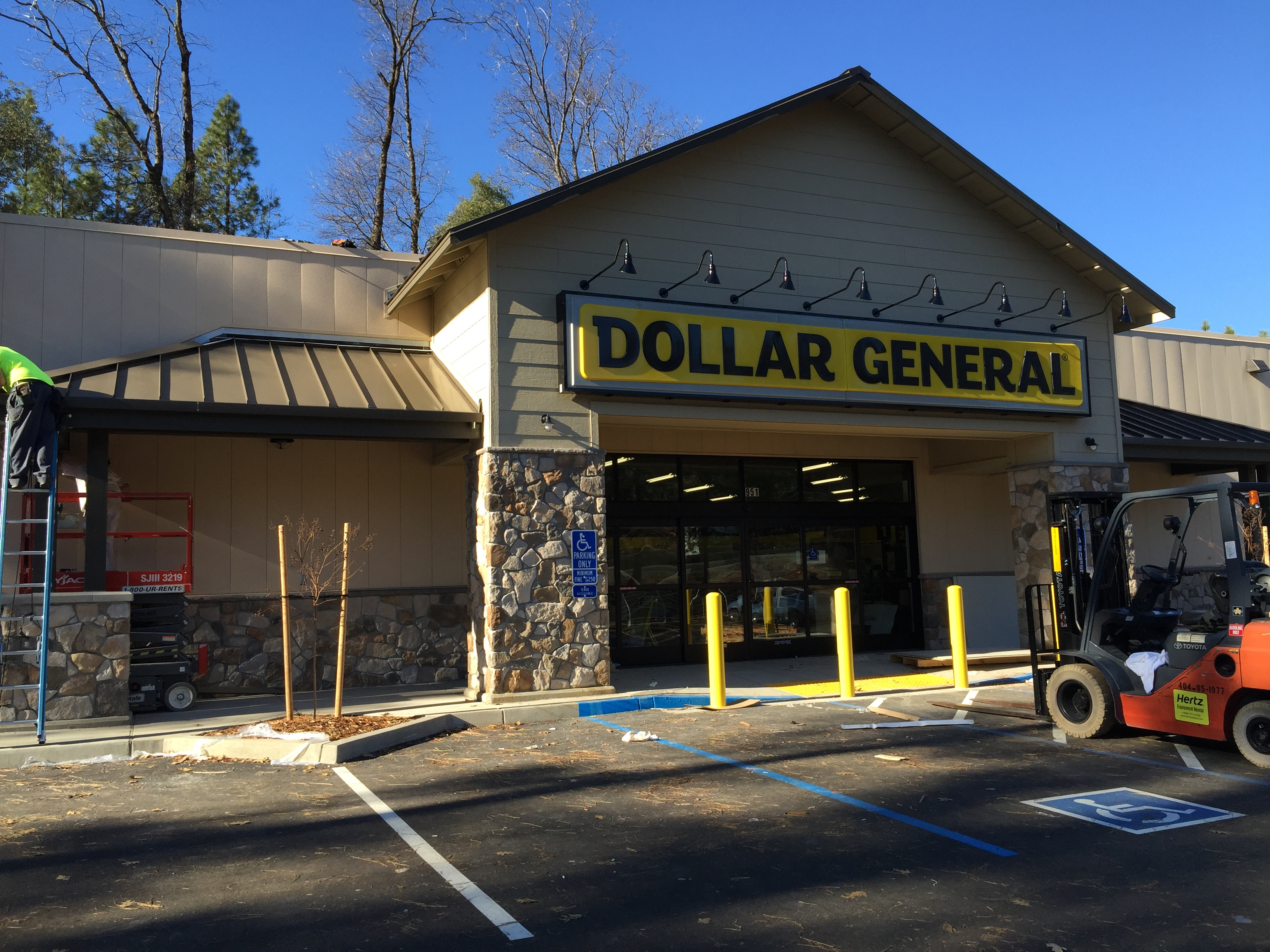 Dollar General - Colfax - M.A. Smith Painting