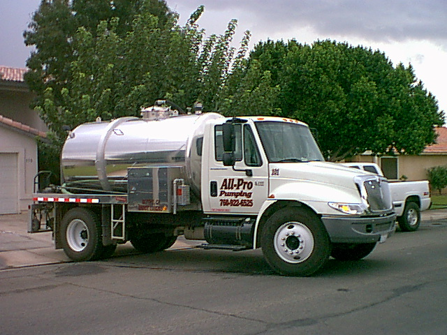 All-Pro Pumping Truck - All-Pro Pumping