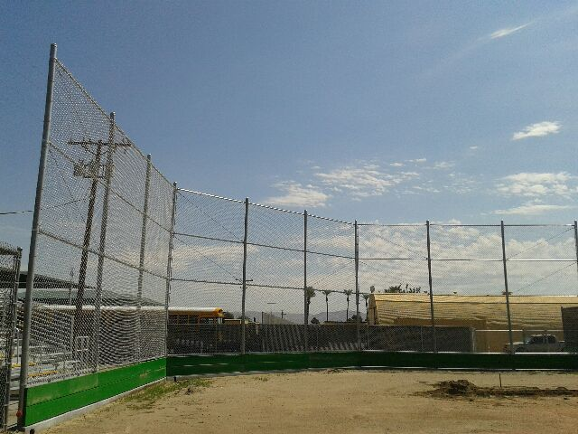 Chain Link Backstop - Red Hawk Services
