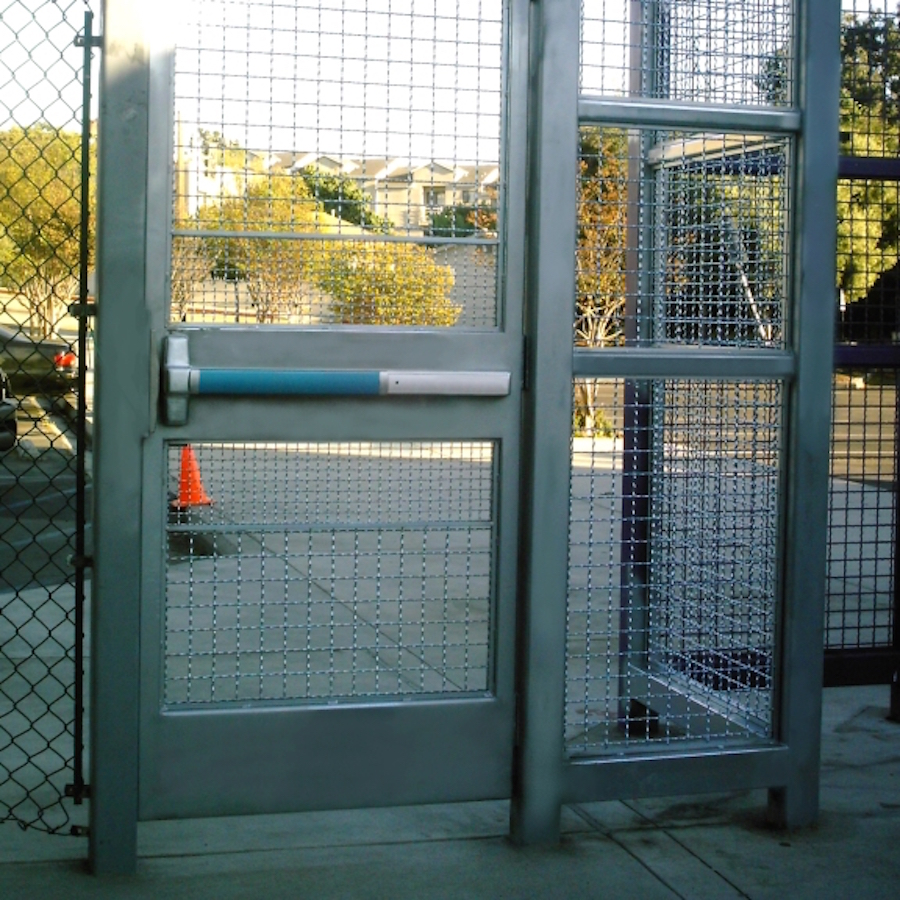 Hollow metal doors door amp gate usa - Security Gates