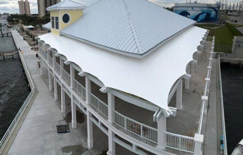 Hoover Architectural Products Dolphin Mall Valet Awning