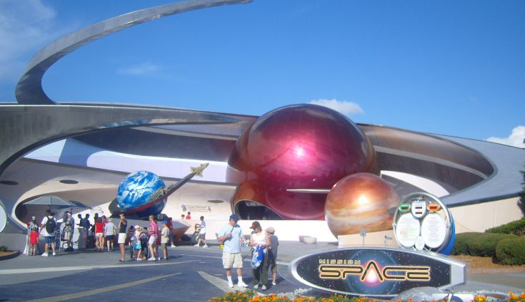 Disney - Epcot Mission Space - Schuff Steel Management Company