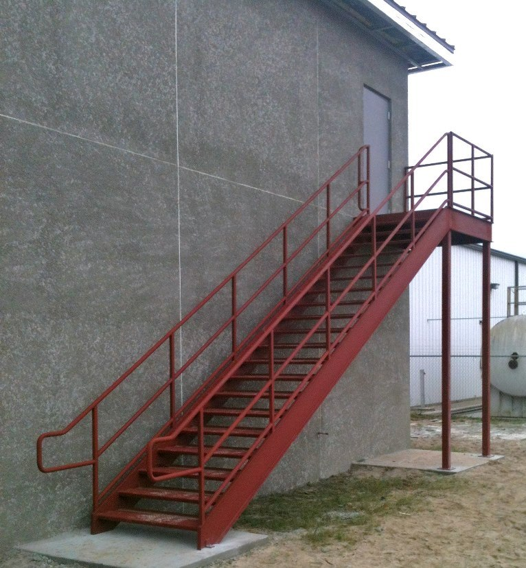 Ordinaire Steel Stairs   Exterior