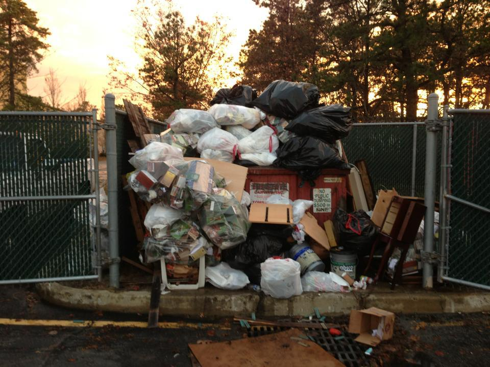 Illegal Dumping Clean up