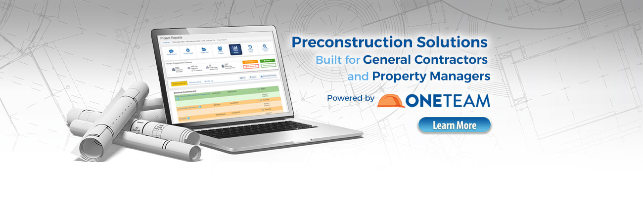 ONETEAM - Preconstruction Solutions