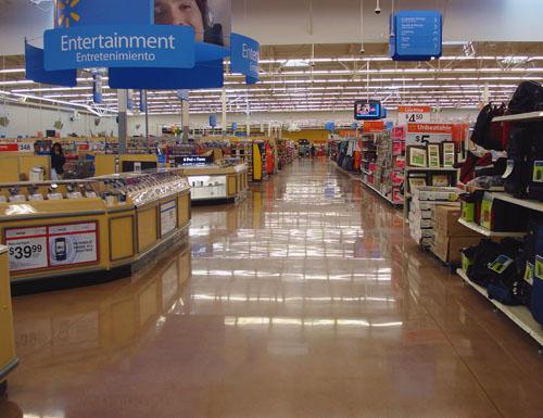WalMart Flooring Project - Performance Floor Systems, Inc.