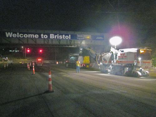 Night Milling - Rte 229, Bristol