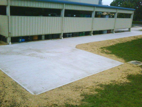 Concrete - Pad Finished Product
