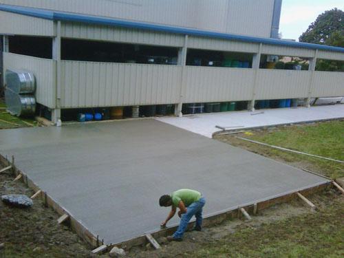 Concrete - Pad Industrial Facility