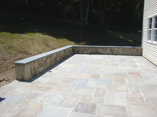 Masonry - Patio & Stone Wall