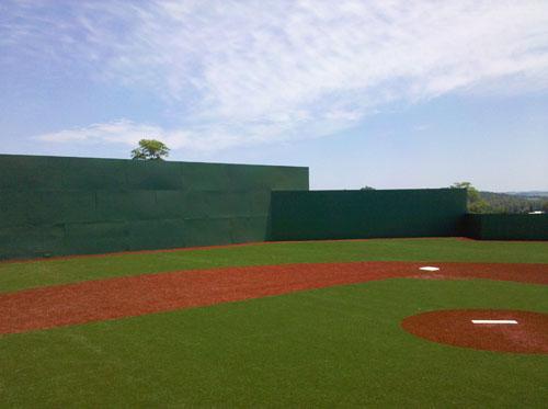 Sports Field Wall