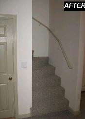 Interior Stairs, walls, railings & Doors
