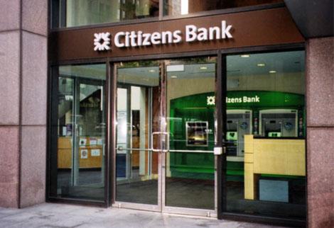 Citizens Bank  - Custom Glass & Aluminum Co., Inc.