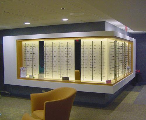 Eyeglass Frame Display  - Heartland Cabinet Supply, Inc.