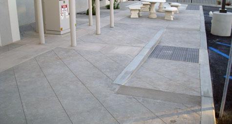 ADA Ramp  - Cal-Pros Concrete Company