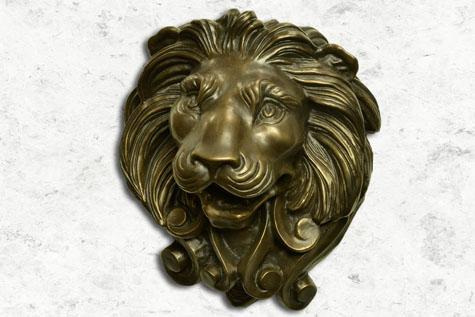 Lions Head Bronze  - Fountains Unique LLC