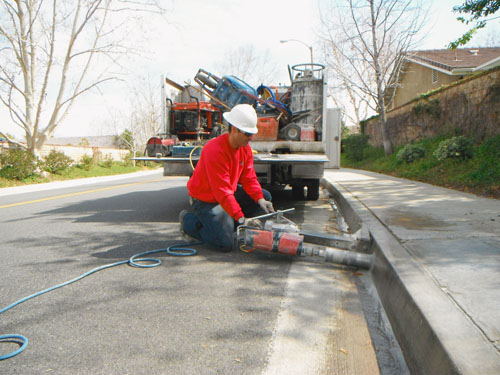 CORE DRILLING - Concrete Sawing & Coring, Inc.
