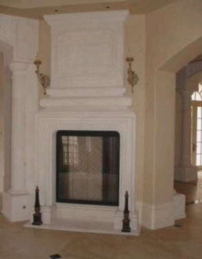 Fireplace 1 - TDM Tiling Inc.