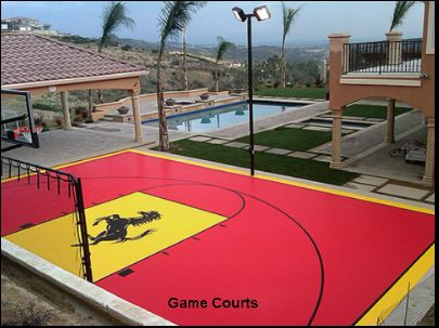 Courts greens bakersfield california proview for Design basketball court