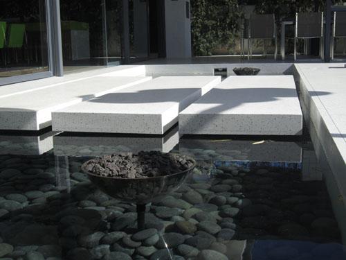 Floating Terrazzo Panels - El Verde Terrazzo Inc.