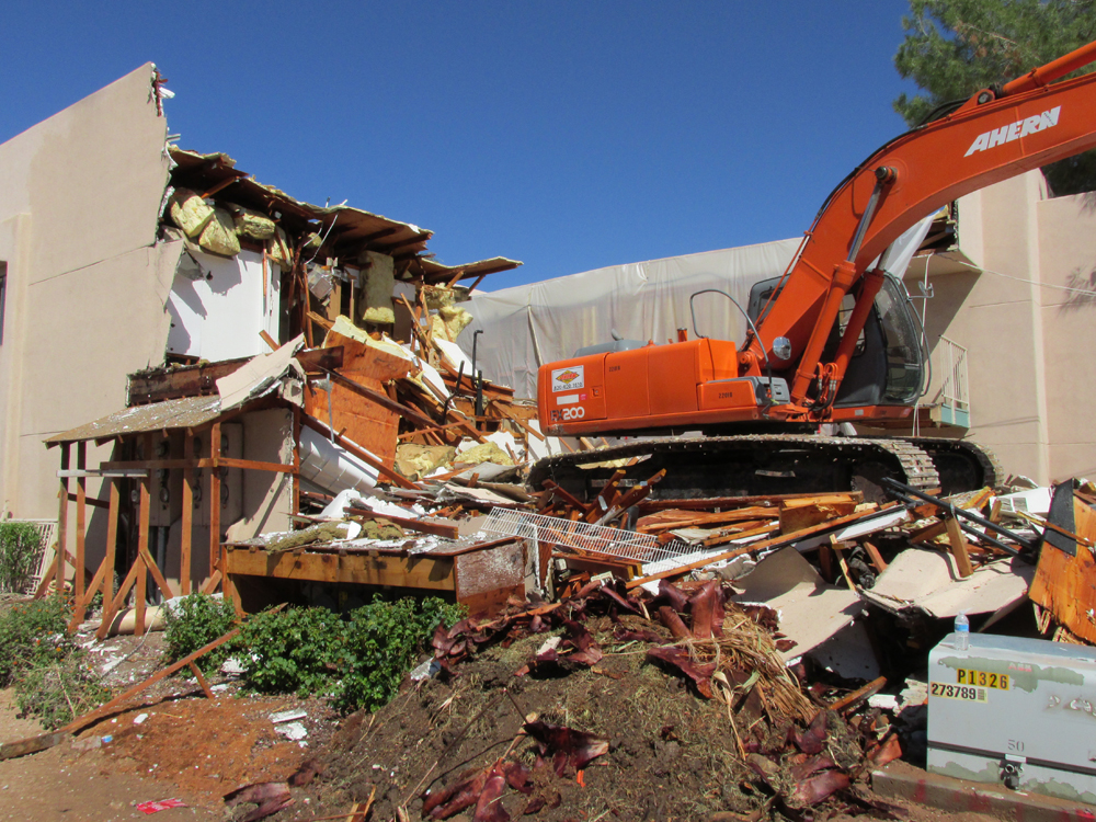 Demolition Services We Provide - Arizona Demolition Services LLC