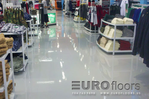 7. Smooth Epoxy Flooring
