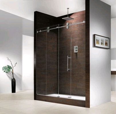 Clear Glass Shower Doors - Glass & Screens Etc. Inc.