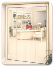 Mirrors Bi-Folding Wardrobe Door  - Glass & Screens Etc. Inc.