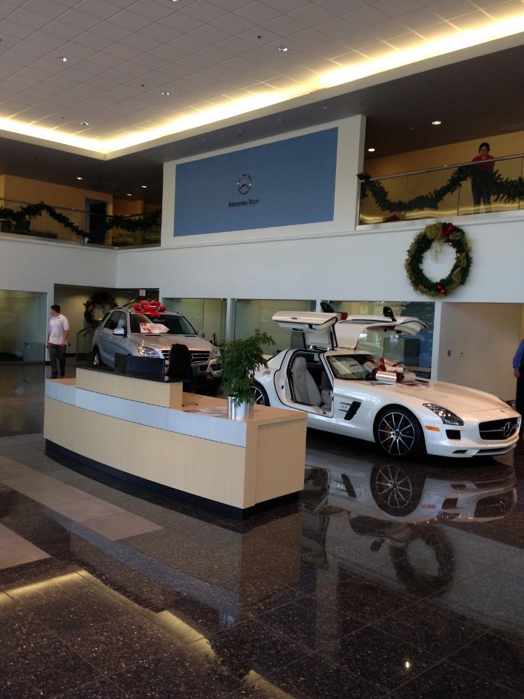 Mercedes-Benz of Fresno - Klaus Baker Painting