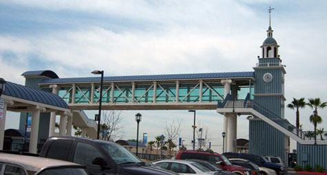 Metro Link in Buena Park -Metal Decking  - Lesron Surety Bonds