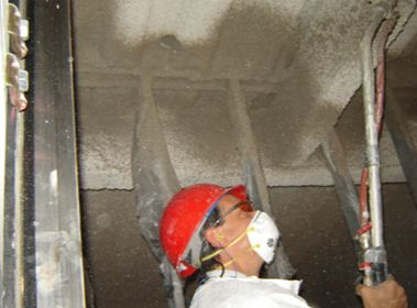 Elevevator Shaft Structural Steel Fireproofing Repairs - Specialty Construction Services, Inc.
