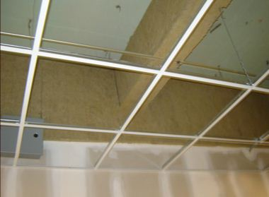 Beam Fireproofing Using Albi DriClad Fireboard - Specialty Construction Services, Inc.